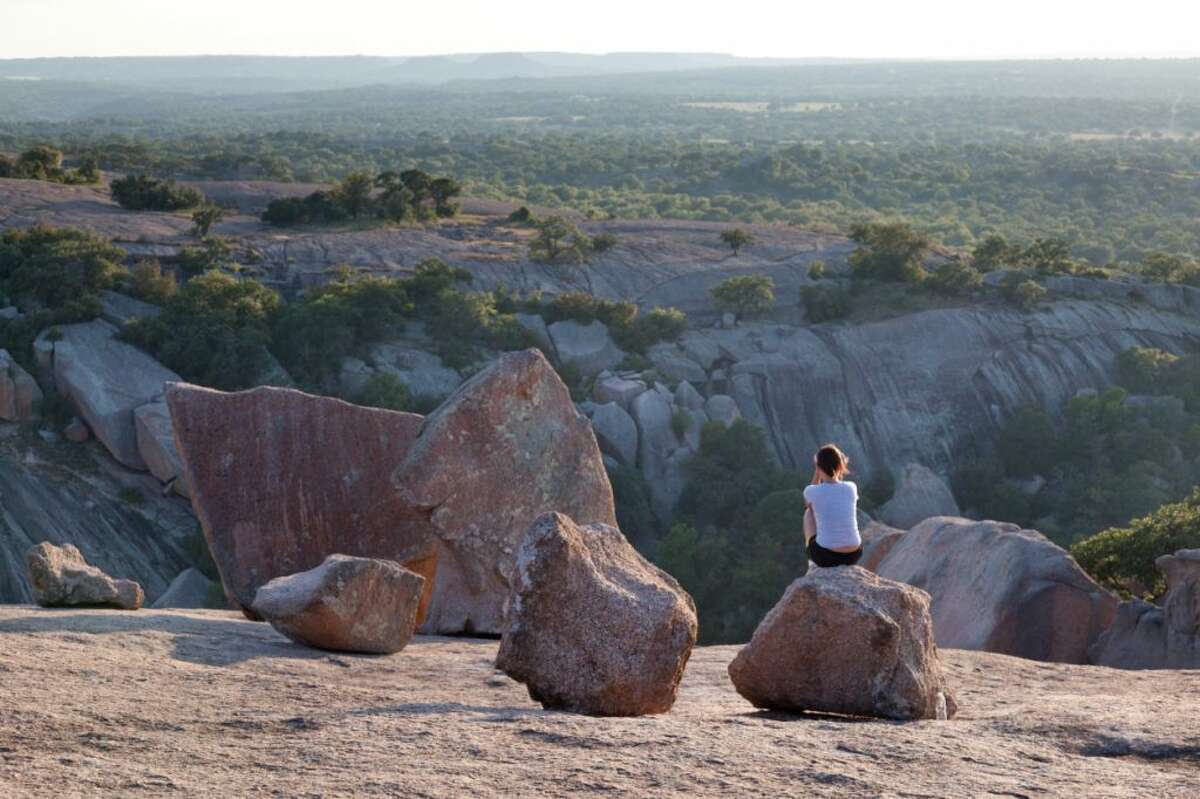 Come to Fredericksburg to visit Enchanted Rock. Stay for the German food and drink.