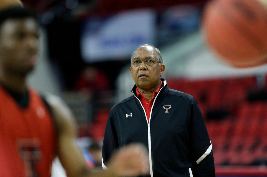 Texas Tech coach Tubby Smith watches during practice for a first-round men's college basketball game in the NCAA Tournament in Raleigh, N.C., Wednesday. Texas Tech plays Butler on Thursday. (AP Photo/Gerry Broome) Photo: Gerry Broome/AP