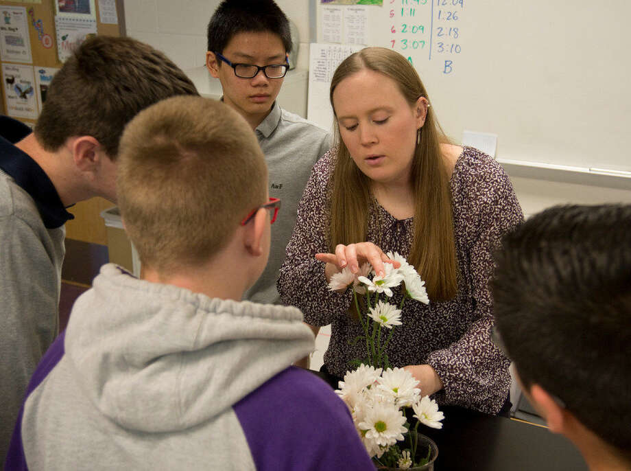 Joanna Ring, a Classroom Pioneer, for her instruction of pre-AP Biology at Midland Freshman High School and year round tennis coach. Monday 03-14-16 Tim Fischer\Reporter-Tel­egram Photo: Im Fischer\Reporter-Tel­egram