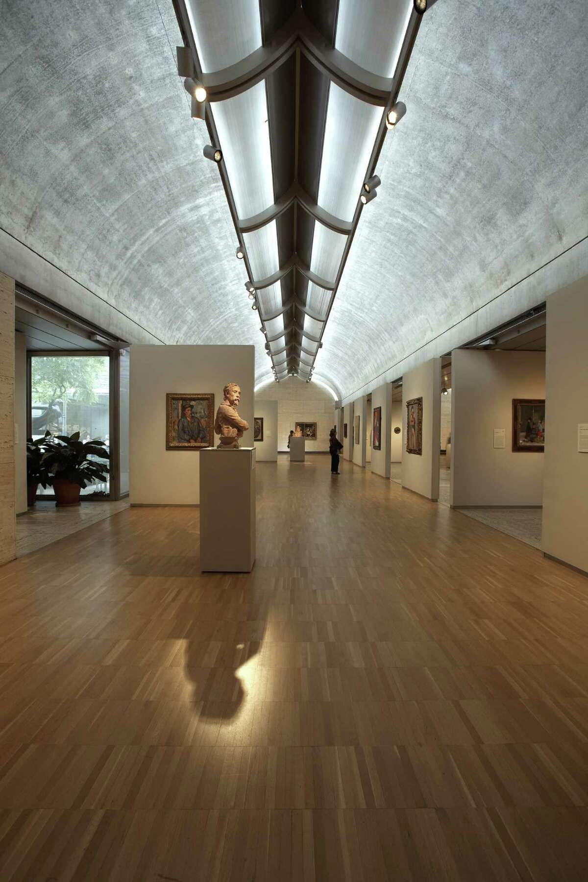 The Kimbell Art Museum in Fort Worth