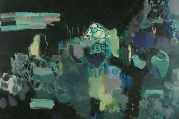 """Eyeing the Door,"" by Houston artist Terrell James."