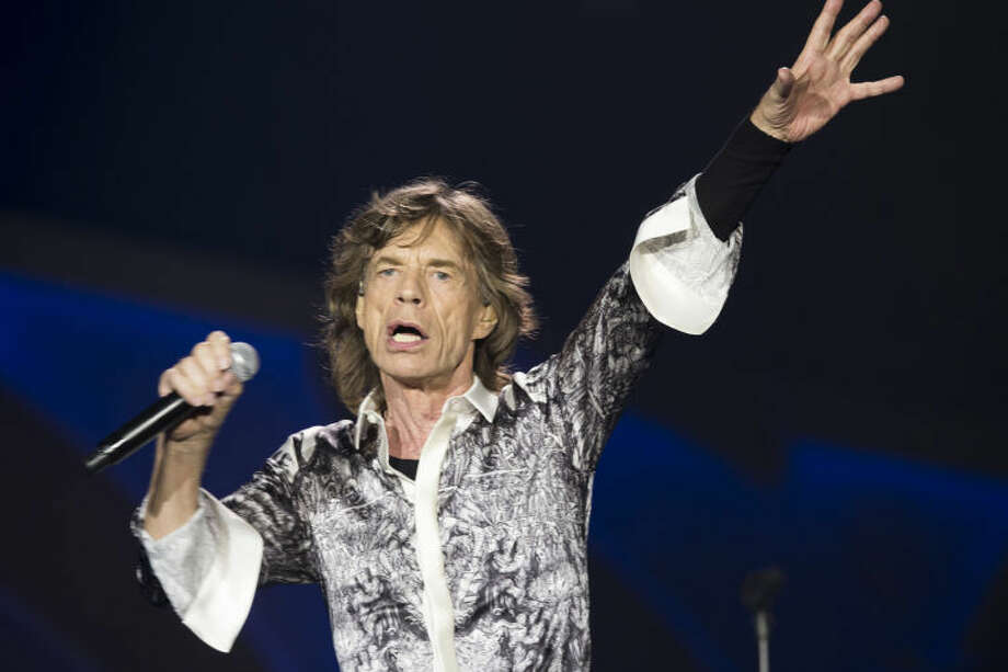Rolling Stones singer front man Mick Jagger, performs during a concert in the Telenor Arena at Fornebu in Baerum just south of Oslo, Norway, Monday May 26, 2014. The Stones rock combo are on a world wide tour billed as The Rolling Stones On Fire. Photo: Terje Bendiksby