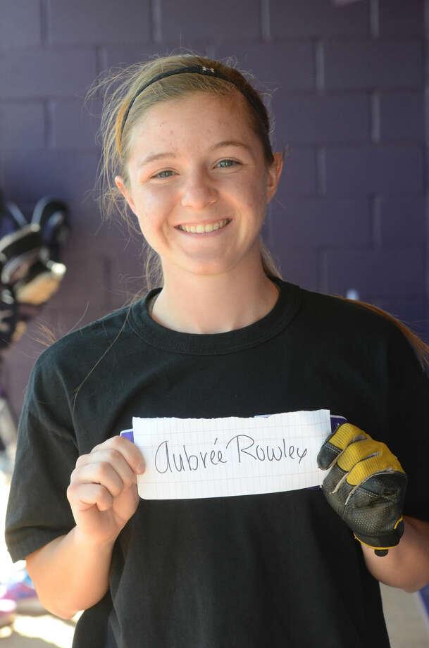 Aubree Rowley --- MHS girls softball mugs, Wednesday, March 25, 2015. James Durbin/Reporter-Telegram
