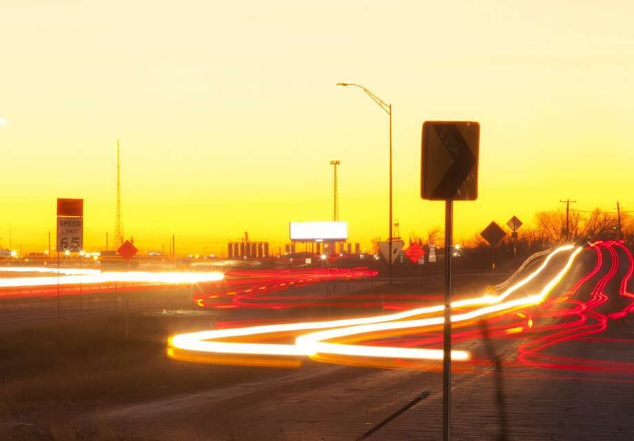 The speed limit on Interstate 20 will be reduced to 65 mph. A stretch of Interstate 20 is photographed from the Midkiff overpass looking toward Loop 250, Wednesday, Jan. 27, 2016. James Durbin/Reporter-Telegram Photo: James Durbin