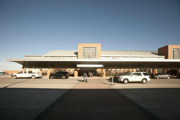 Exterior view of Midland International Airport, Feb. 13, 2014. James Durbin/Reporter-Telegram