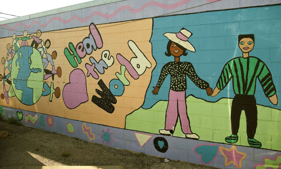 Wednesday, 4-1-15. Mural near El Burrito Tim Fischer\Reporter-Telegram Photo: Tim Fischer