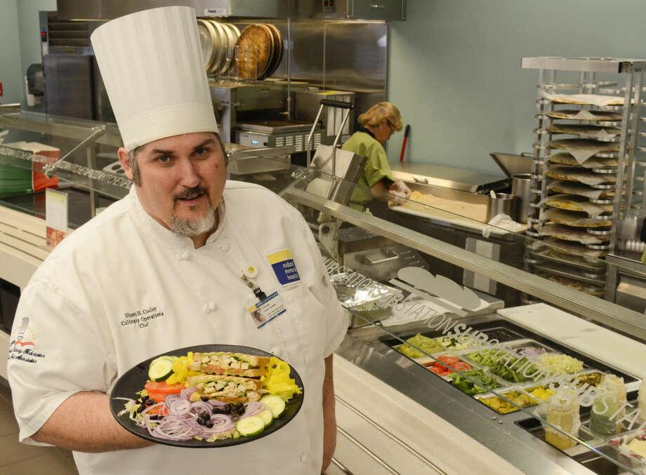 Midland Memorial Hospital executive chef Shawn Cooley Tim Fischer\Reporter-Telegram Photo: Tim Fischer