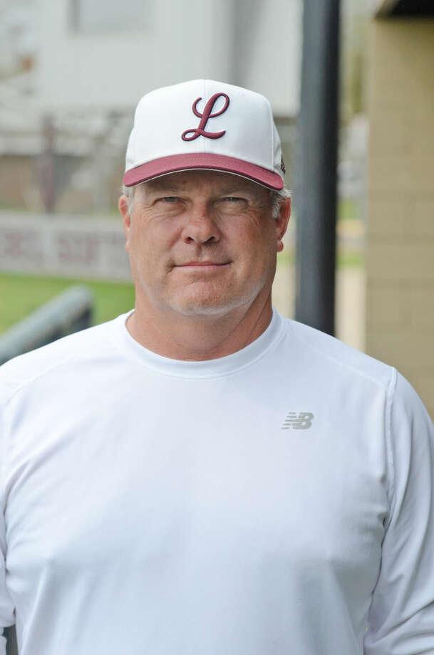 Lee High varsity softball mug - softball head coach Wes Overton James Durbin/Reporter-Telegram Photo: James Durbin