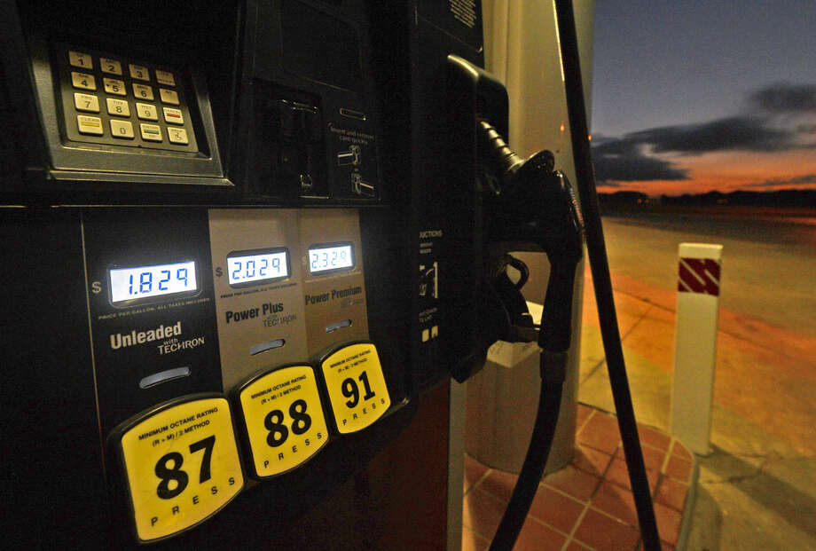 The price for a gallon of gas is $1.82 at the Kent Quick on the corner of Briarwood Ave. and Northcrest Dr. as of Thursday, Oct. 22, 2015. James Durbin/Reporter-Telegram Photo: James Durbin
