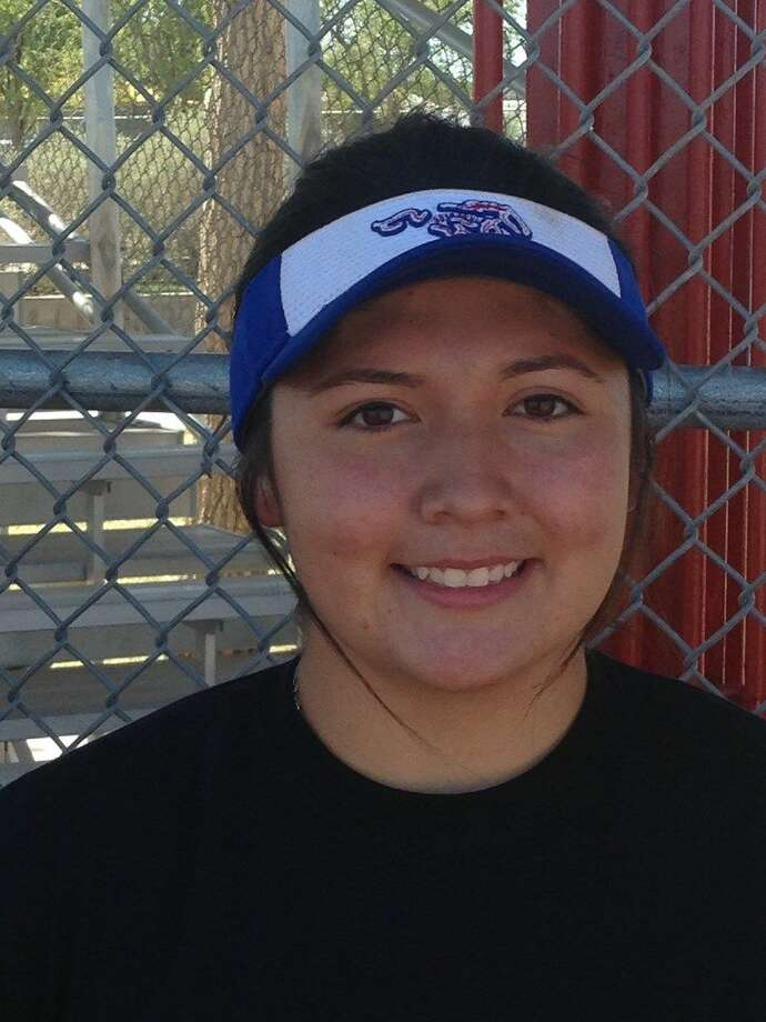 Midland Christian junior third baseman/pitcher Clarissa Martinez Photo: Christopher Hadorn | Reporter-Telegram