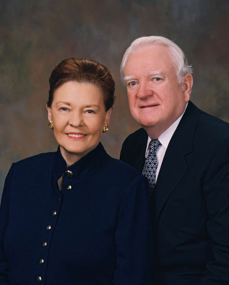 Dorthy and Clarence Scharbauer Jr.