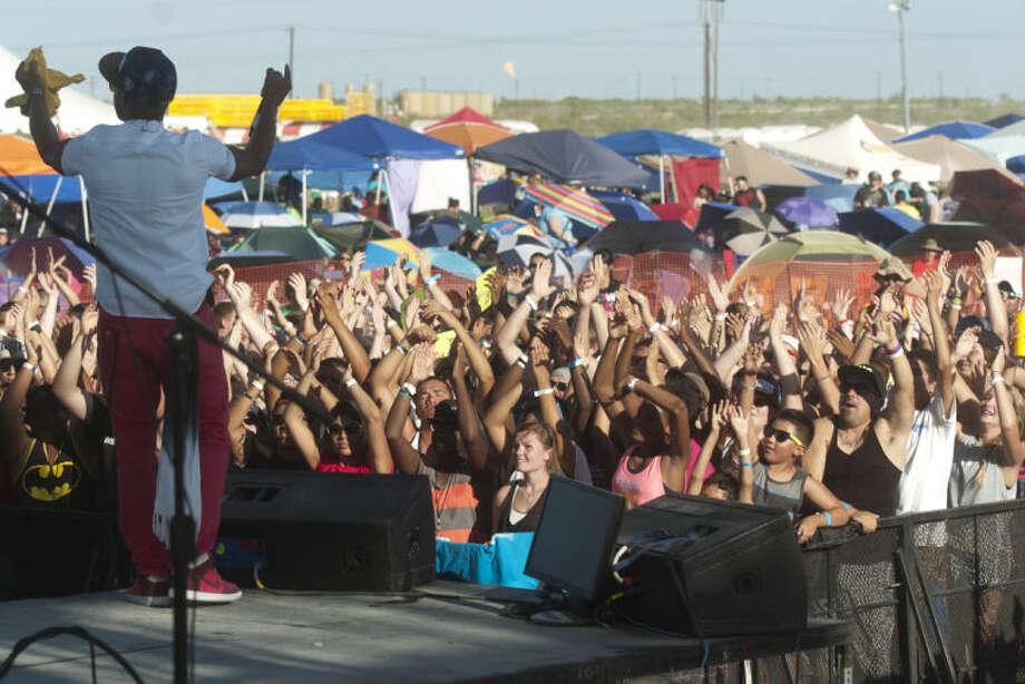 """Members of the band """"Shonlock"""" perform during Rock The Desert on Friday. James Durbin/Reporter-Telegram Photo: JAMES DURBIN"""