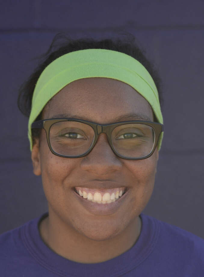 Midland High softball mugs 2016 - DeAndra Allen (15) James Durbin/Reporter-Telegram