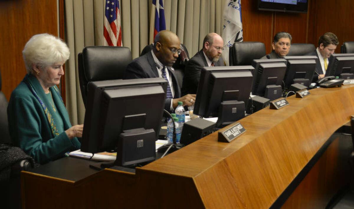 Midland City Council. Tim Fischer\Reporter-Telegram