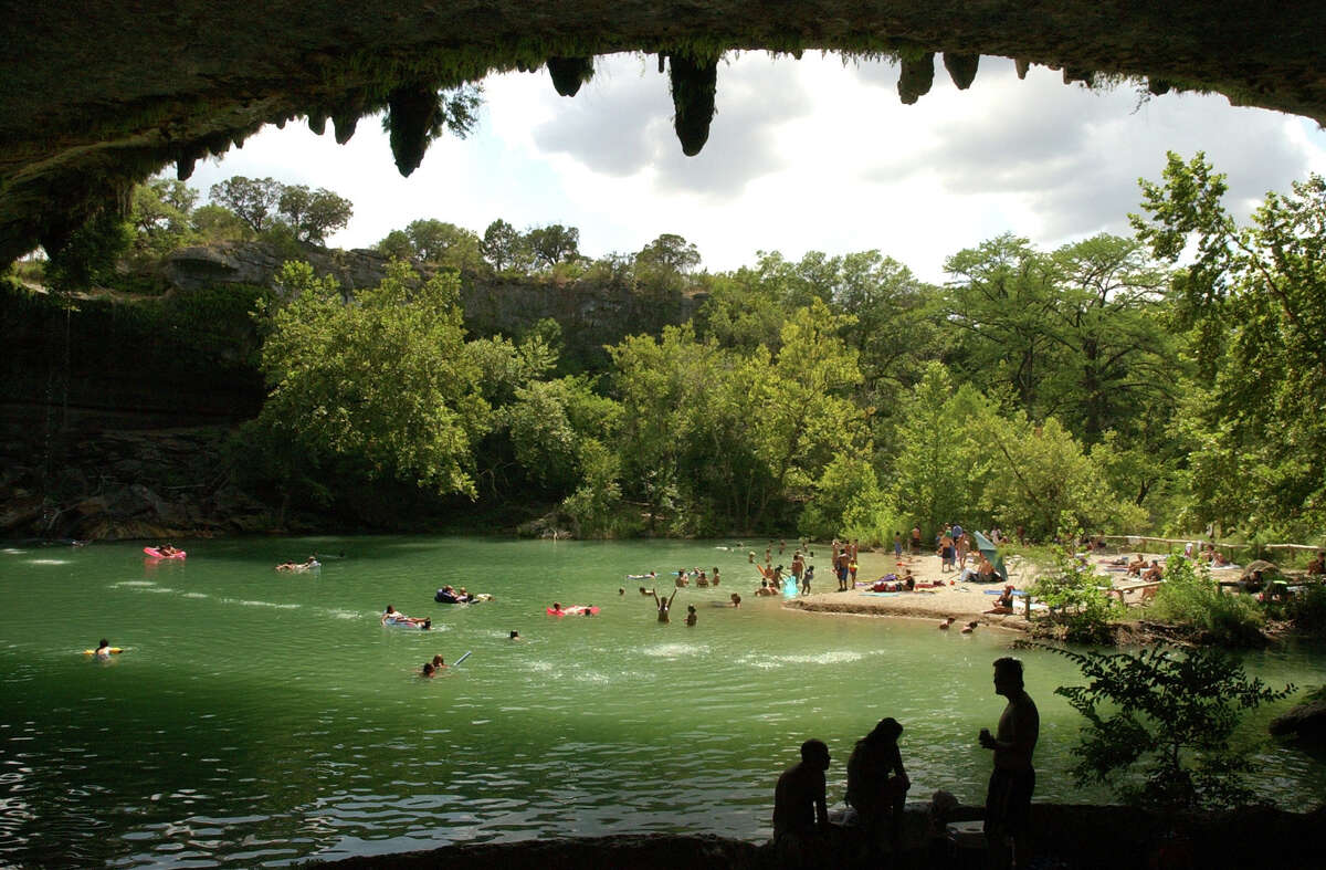 Hamilton Pool Preserve is a natural pool with space for swimmers, hikers and nature study.