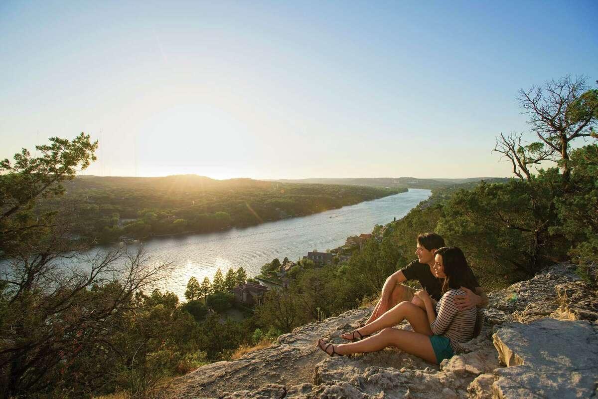 Mount Bonnell is a scenic spot in Austin.