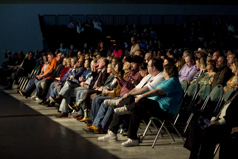 Opening night at the Horseshoe Pavilion, Saturday, Feb. 7, 2015. James Durbin/Reporter-Telegram Photo: James Durbin