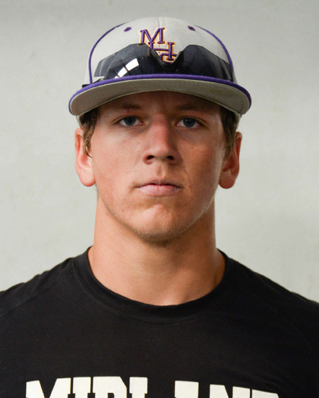 Midland High junior baseball player Sam Bertelson. Tim Fischer | Reporter-Telegram
