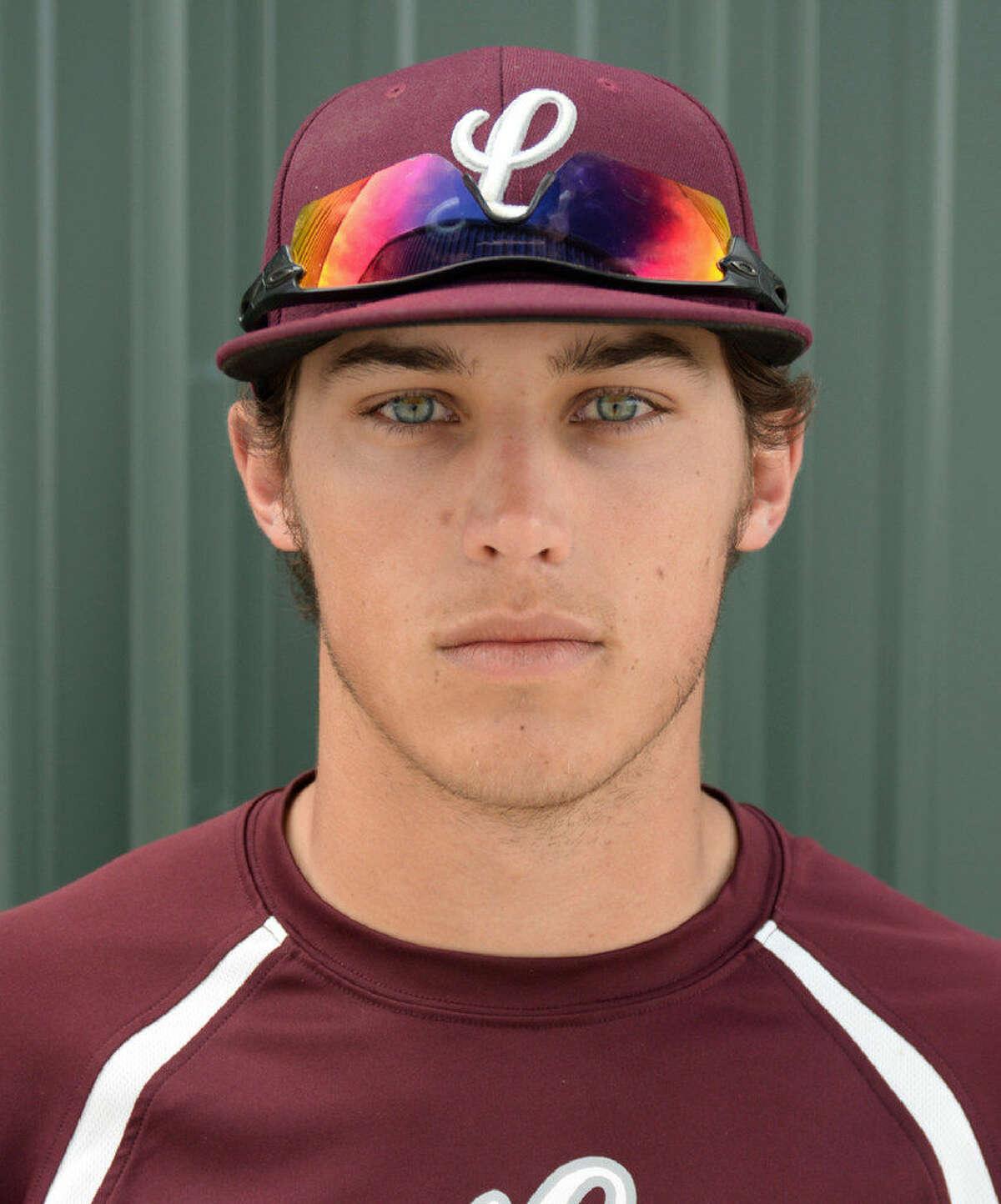 Lee baseball player Garrett Chalker. Tim Fischer | Reporter-Telegram