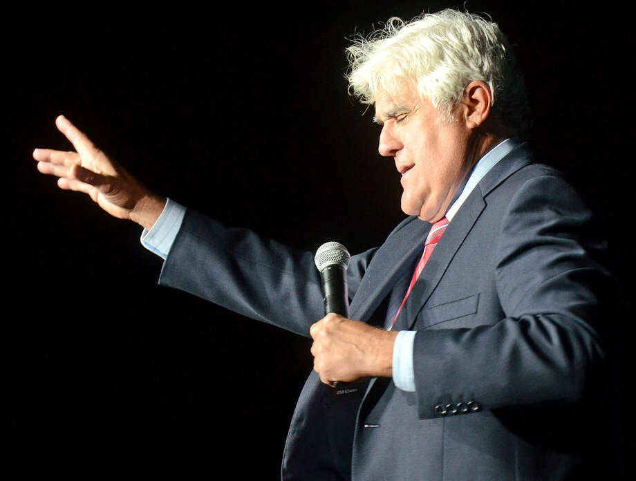 Jay Leno performs a sold-out show Friday, April 17, 2015, at Chaparral Center. James Durbin/Reporter-Telegram Photo: James Durbin