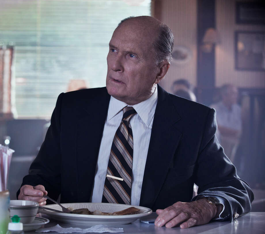 "This photo released by Warner Bros. Pictures shows, Robert Duvall as Joseph Palmer, in the Warner Bros. Pictures' and Village Roadshow Pictures' drama ""The Judge"" a Warner Bros. Pictures release. Photo: Claire Folger"