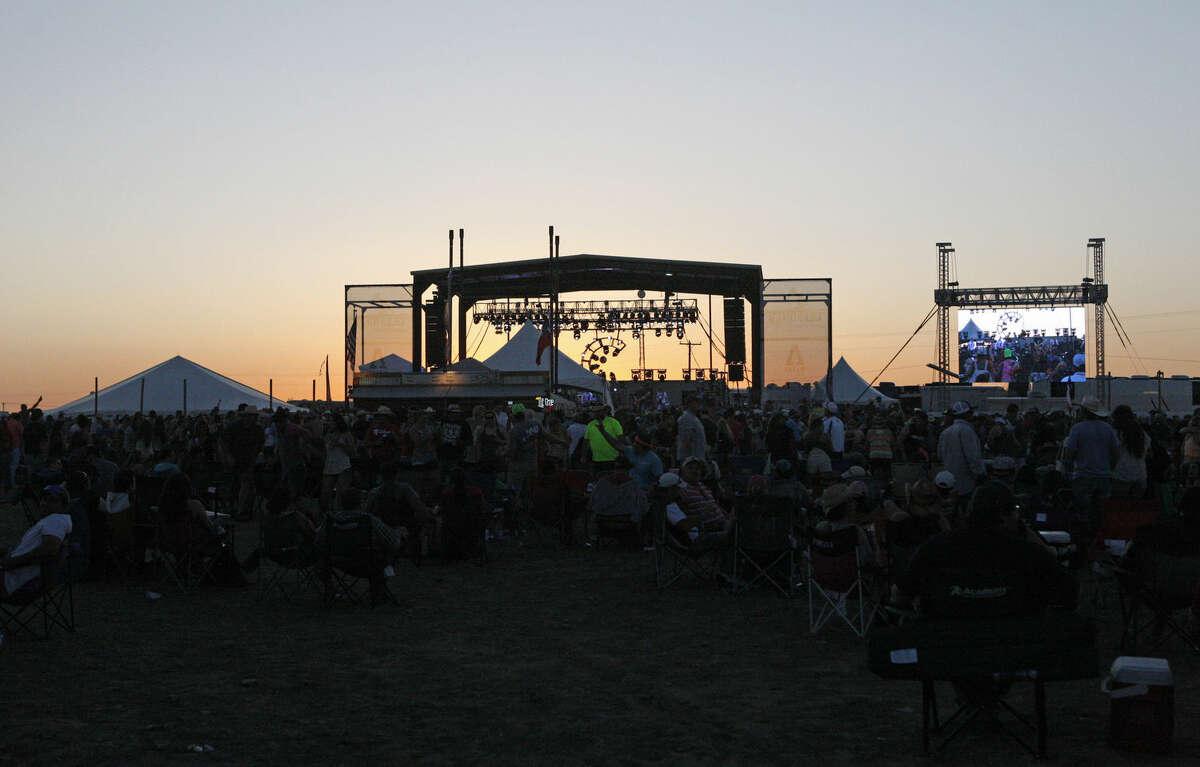 Wade Bowen performs during the Crudefest music festival Saturday, May 16, 2015. James Durbin/Reporter-Telegram