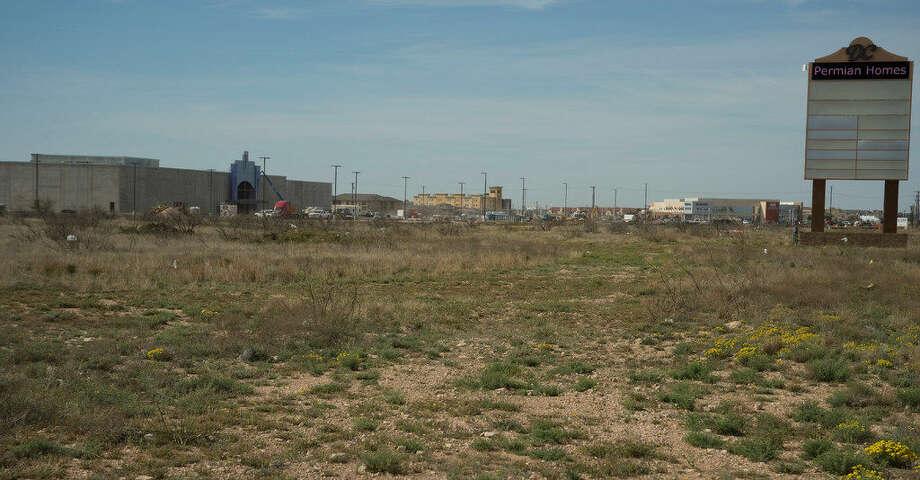 Dorado Center will be anchored with a new Cinergy Cinemas, seen under construction Tuesday 03-22-16. Tim Fischer\Reporter-Telegram