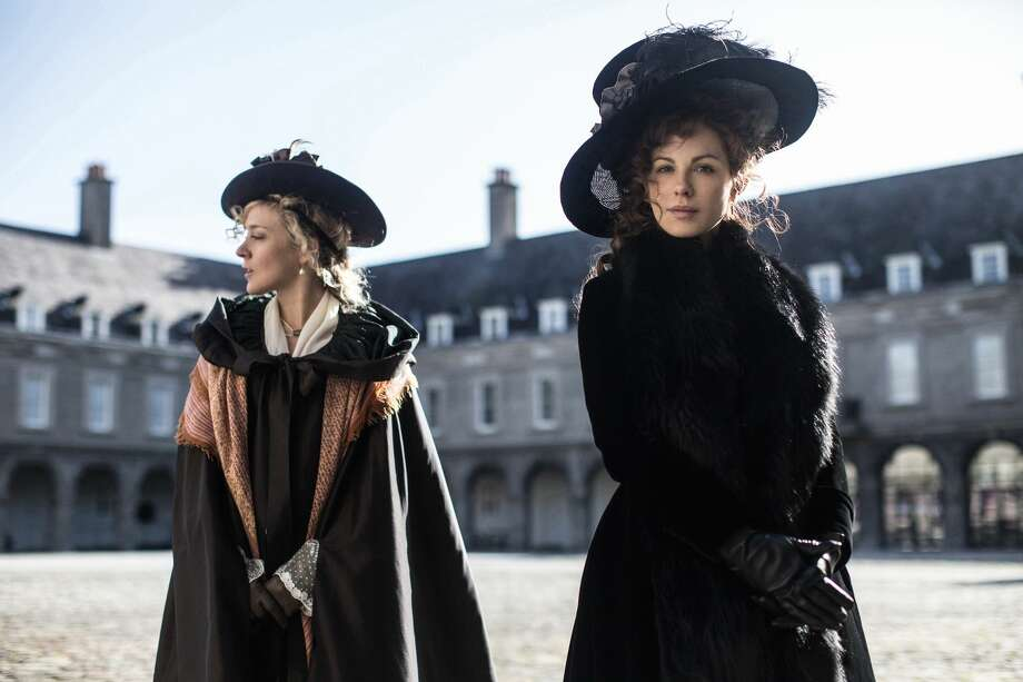 Chloe Sevigny, left, and Kate Beckinsale star in 'Love and Friendship,' the new film by Whit Stillman. Stillman will appear at the advance screening of his film in Midland on April 26 hosted by the Midland County Public Library. Photo: Ross McDonnell
