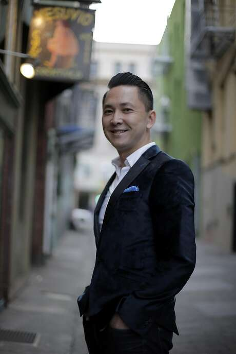 "Viet Thanh Nguyen is author of the novel ""The Sympathizer."" Photo: Carlos Avila Gonzalez, The Chronicle"