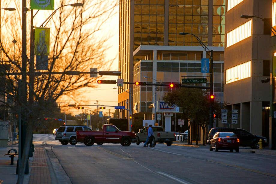 Downtown Midland Photo: JAMES DURBIN