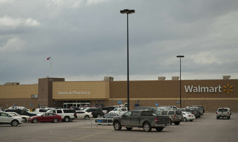 The reopening date of the northside Walmart -- seen April 13 -- has not bee set yet, according to a company spokeswoman. Photo: File Photo