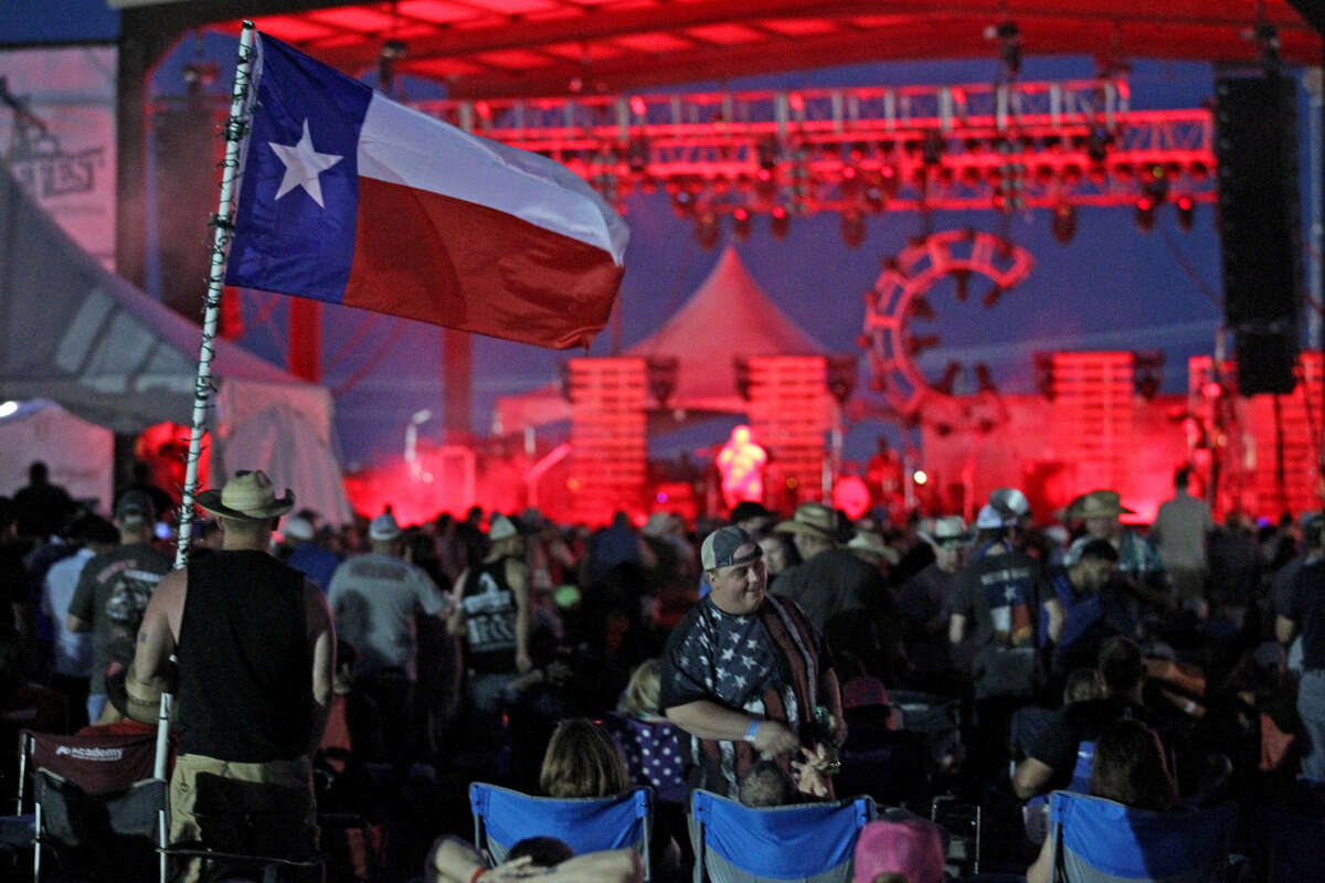 Kevin Fowler performs during day two of the Crudefest music festival on Friday, May 15, 2015, at Star of Texas Ranch. James Durbin/Reporter-Telegram