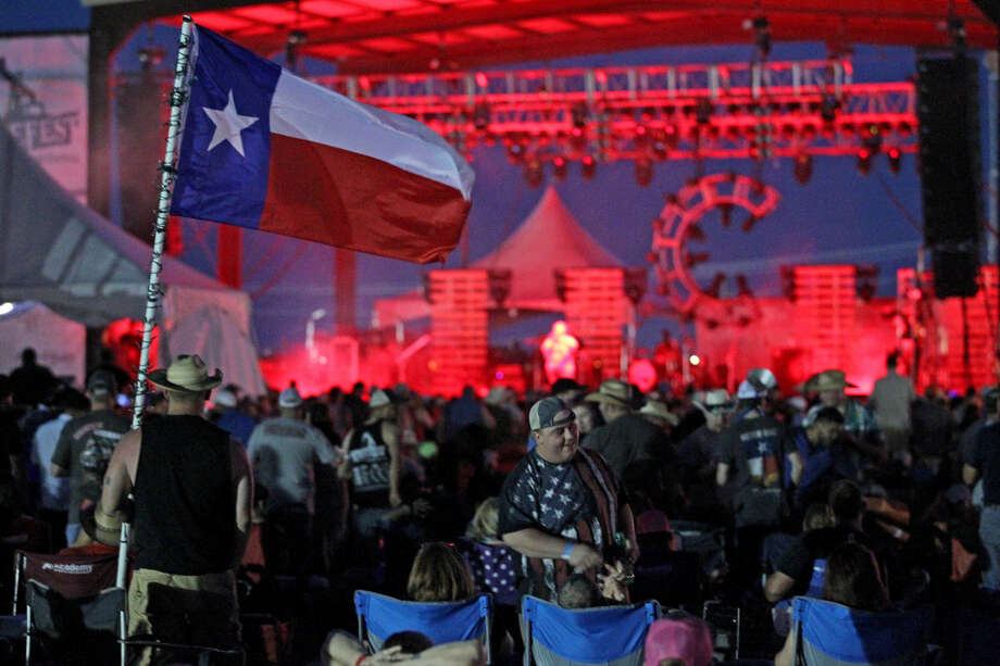 Kevin Fowler performs during day two of the Crudefest music festival on Friday, May 15, 2015, at Star of Texas Ranch. James Durbin/Reporter-Telegram Photo: James Durbin