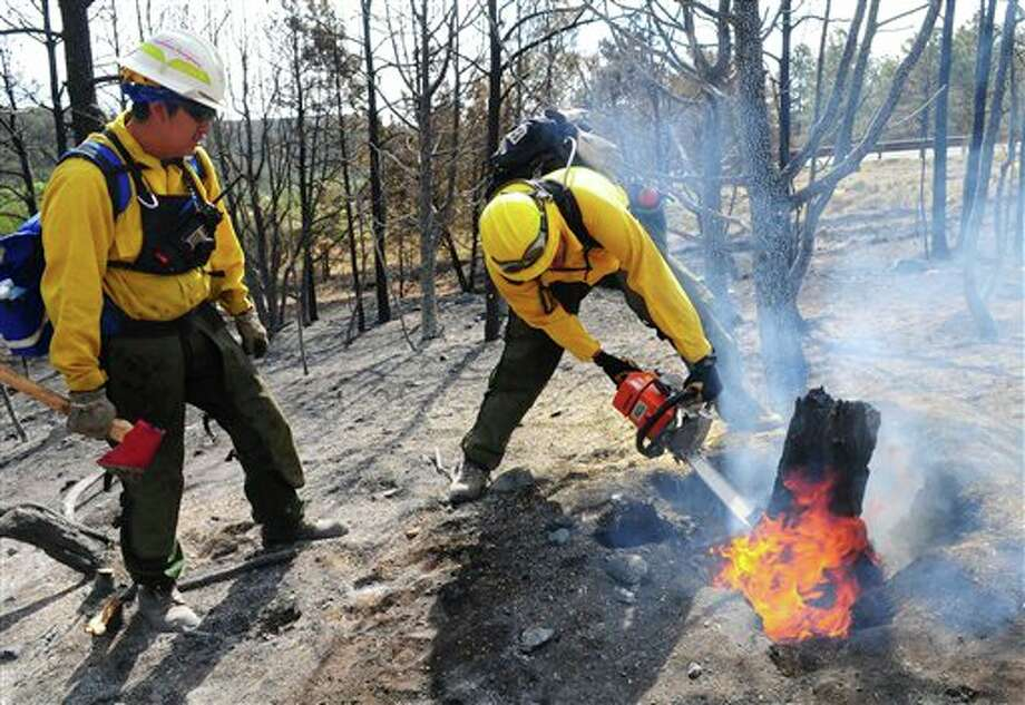A picture from a previous wildfire in 2012 (AP Photo/Albuquerque Journal, Adolphe Pierre-Louis) Photo: Adolphe Pierre-Louis / Albuquerque Journal