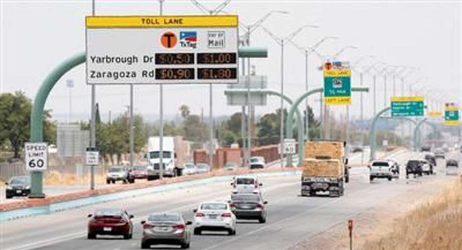Times file photo: Vehicles head west on the Cesar Chavez Border Highway. Photo:  El Paso Times