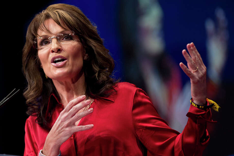 Former Alaska governor Sarah Palin delivers the keynote address at the Conservative Political Action Conference (CPAC) in Washington, Saturday, Feb. 11, 2012. Photo: AP Photo/J. Scott Applewhite / The Associated Press