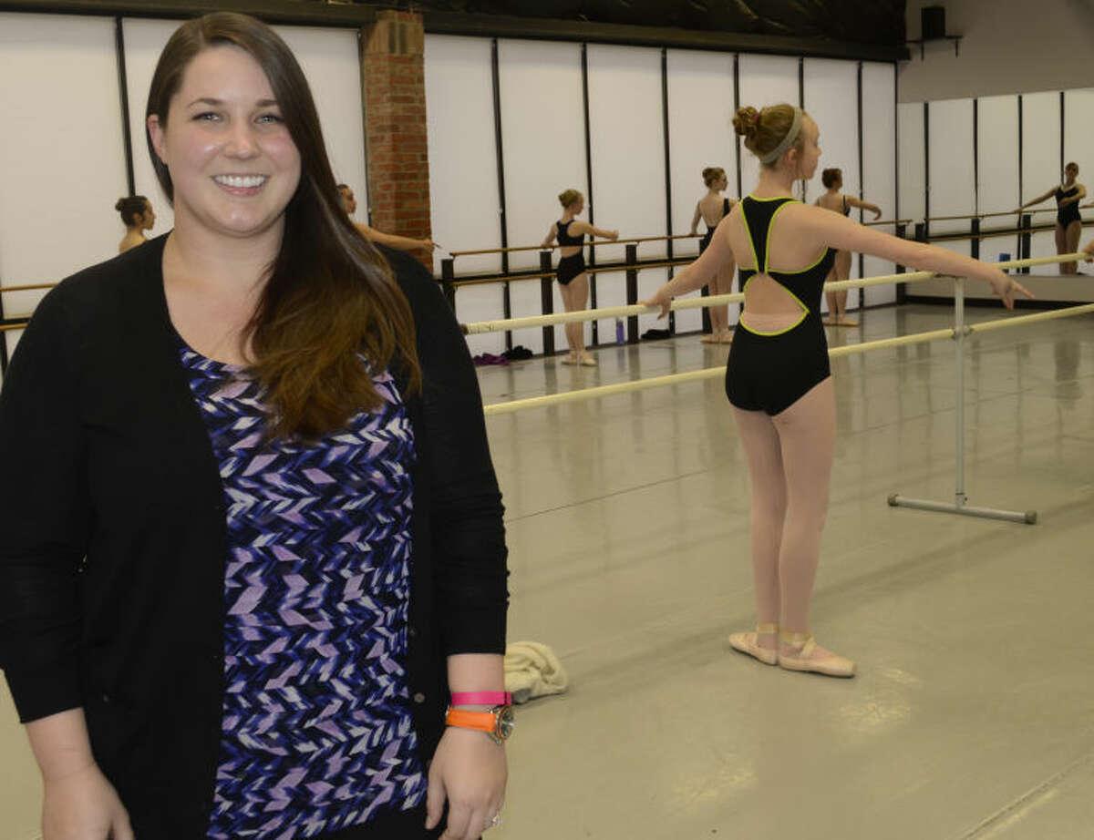 Rachel Kerr, former student and now executive director of Midland Festival Ballet. Tim Fischer\Reporter-Telegram