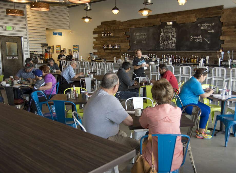 The new Lori's Cafe is open Monday 04-04-16. Tim Fischer\Reporter-Telegram Photo: Tim Fischer