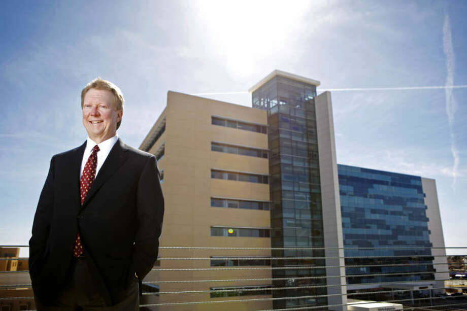 Russell Meyers, president and CEO of Midland Memorial Hospital, in portrait Feb. 17, 2014 at the MMH campus. James Durbin/Reporter-Telegram Photo: JAMES DURBIN