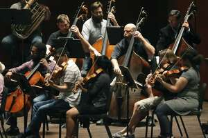 The San Antonio Symphony, shown in rehearsal, has suffered a data breach of personnel records of the musicians and staff, the organization said Tuesday.