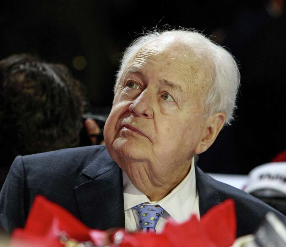 New Orleans Saints' owner Tom Benson at the 2016 Kentucky Derby. After months of negotiations and two delays, billionaire Tom Benson reached a confidential settlement with his estranged daughter regarding her ownership stakes in the New Orleans Saints and Pelicans pro sports teams, lawyers for both sides announced Friday. Photo: Garry Jones /Associated Press / FR50389 AP