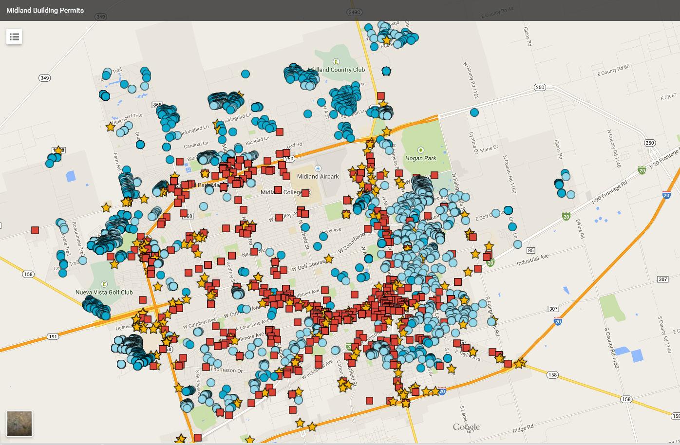 building permits data reveals midland development trends midland building permits data reveals midland development trends midland reporter telegram