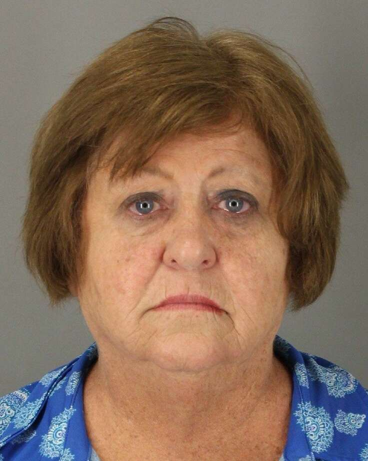 Ozen High School teacher Mary Hastings, 63, was arrested Friday and charged with misdemeanor assault after a video surfaced showing her repeatedly striking a student. Hastings was released after posting a $2,500 bond. Photo: Courtesy Jefferson County