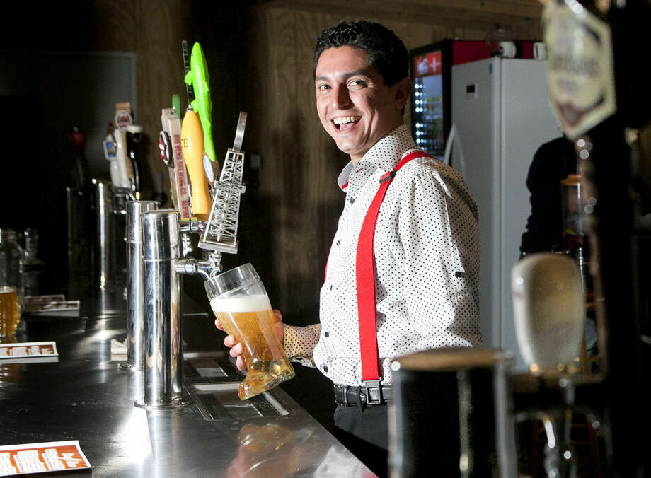 Jorge Hernandez, owner of the Beer Garden at Garden View Nursery, in portrait Saturday, Feb. 7, 2015 at the business. James Durbin/Reporter-Telegram Photo: James Durbin