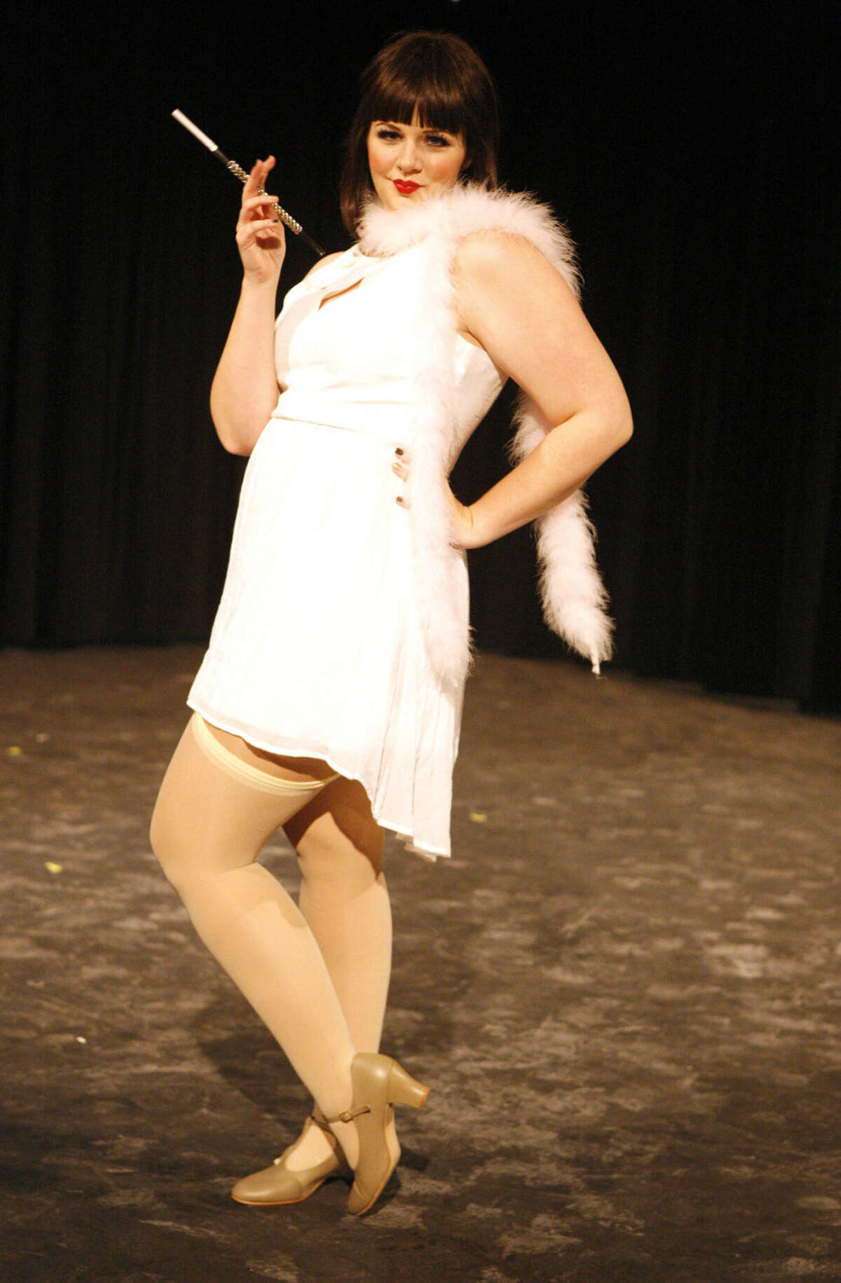 Abby Anderson as Sally Bowles in 'Cabaret.'
