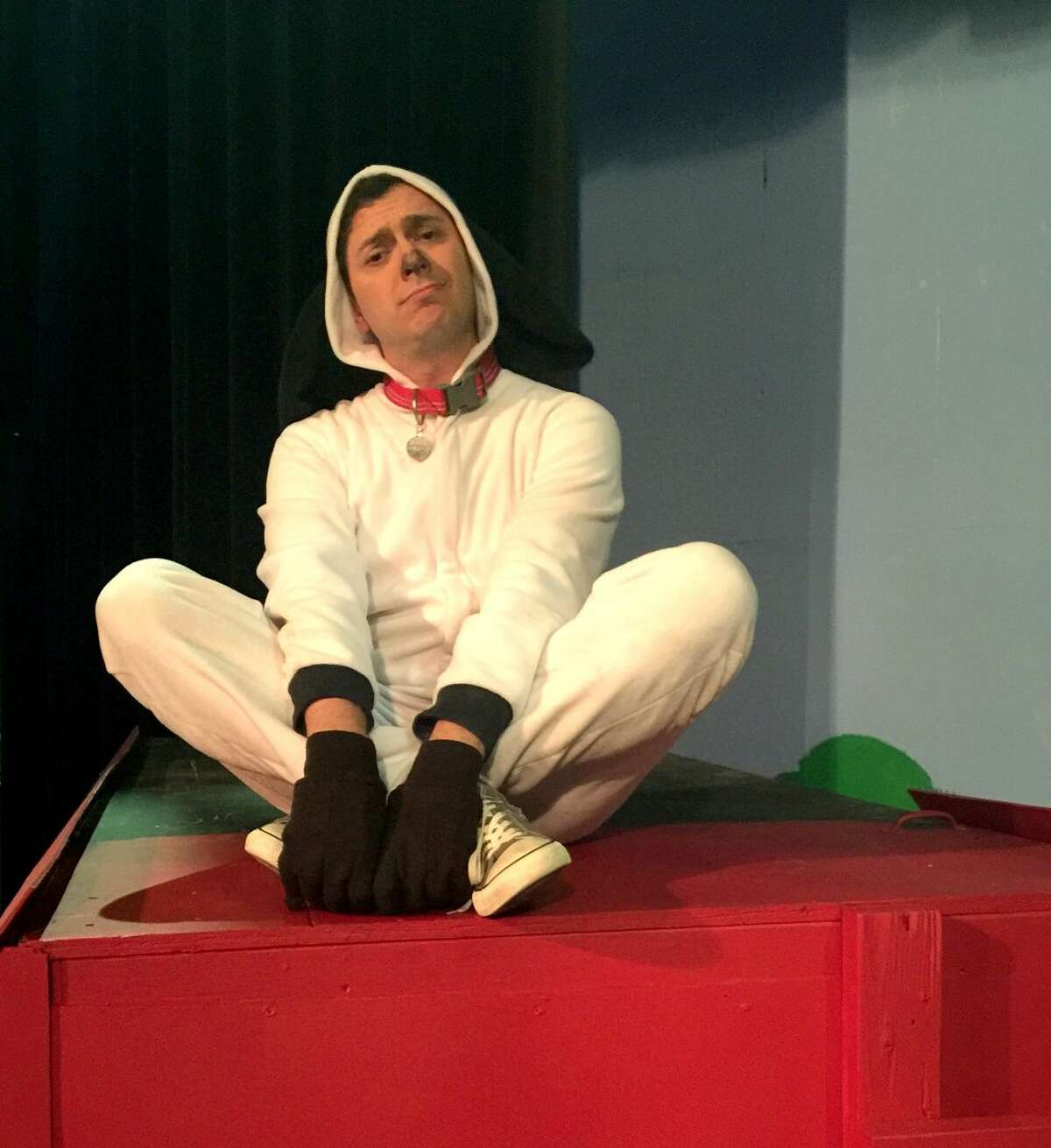 """Mitchell Hurricane Smith stars as Snoopy in Permian Playhouse's musical """"You're a Good Man, Charlie Brown."""""""