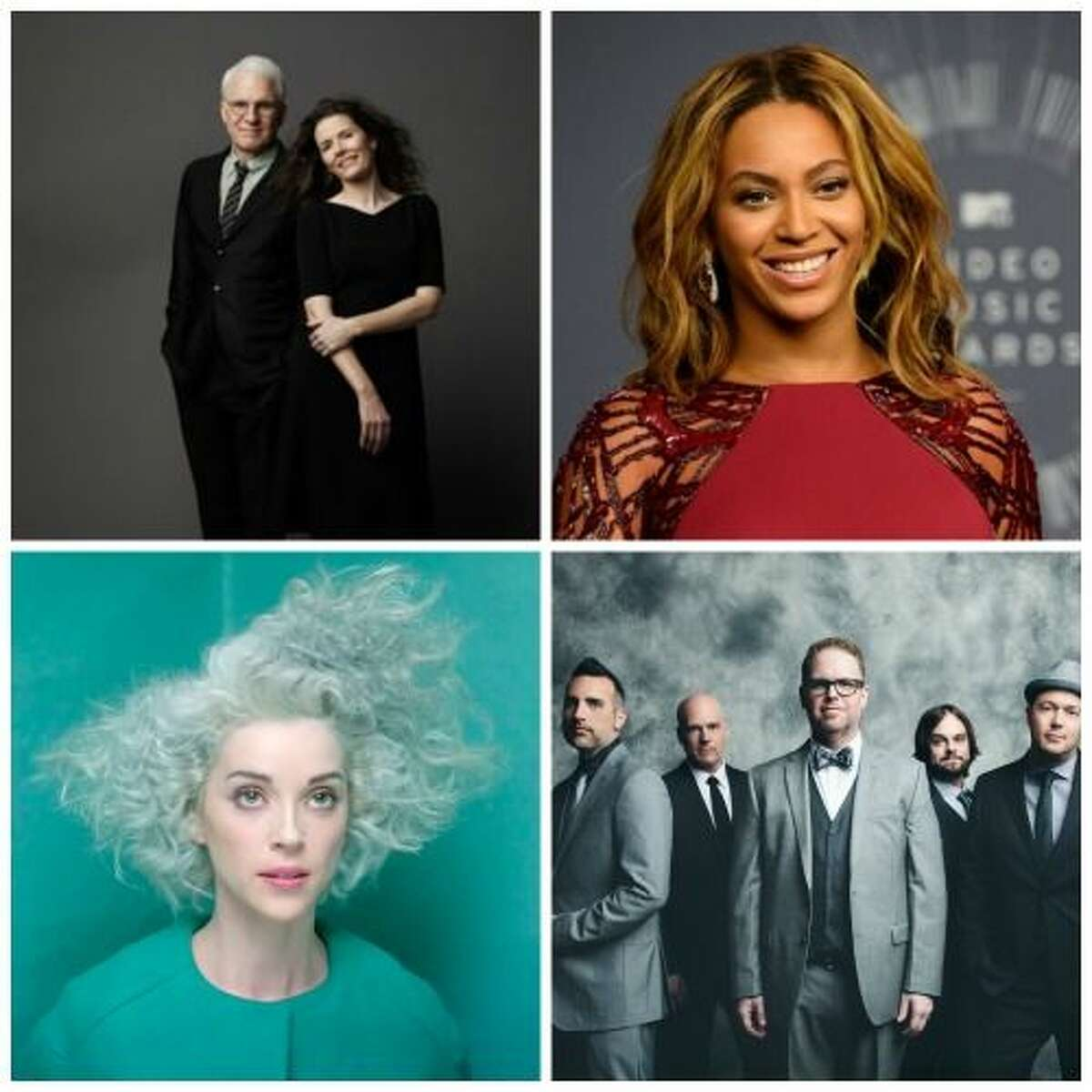 Texas represents at the 2015 Grammys with a bevy of nominees including Steve Martin and Edie Brickell, Beyonce, St. Vincent and MercyMe who all hail from the Lone Star State.