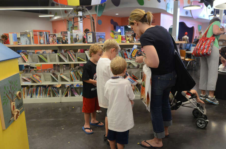 Summer Reading kickoff event at Midland County Public Library Centennial Branch on Tuesday. James Durbin/Reporter-Telegram Photo: James Durbin