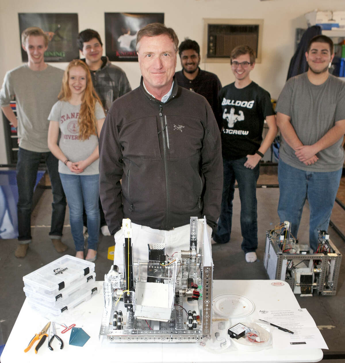 """""""I get to watch these kids grow before my eyes, as they learn machining, tool use, mechanical engineering and analytical skills. They develop a lot of self-reliance and self-confidence in robotics."""""""