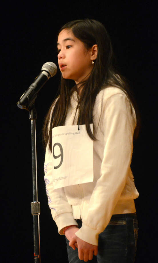 Anna Ngo of Carver competes in the Midland Reporter-Telegram regional spelling bee Saturday, March 21, 2015, in the Allison Fine Arts building on the campus of Midland College. James Durbin/Reporter-Telegram Photo: James Durbin